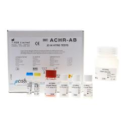 Dosage radiorécepteur des auto-anticorps AChR